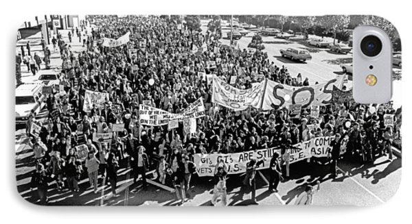 Anti Vietnam War Demonstration IPhone Case