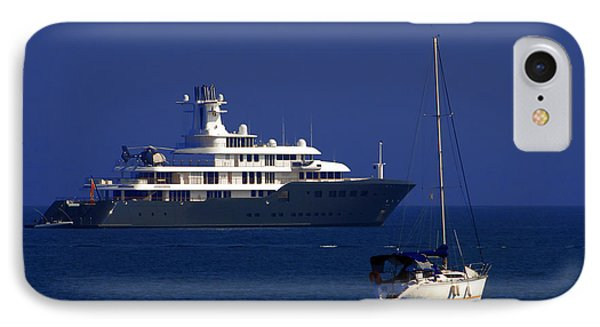 Antibes - Superyachts Of Billionaires Phone Case by Christine Till