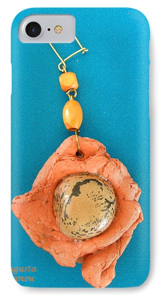 Aphrodite Earring Phone Case by Augusta Stylianou