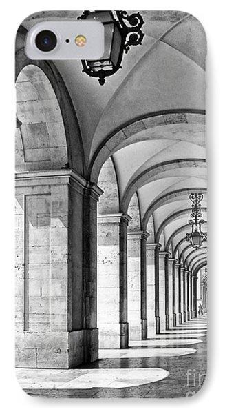 Arcades Of Lisbon Phone Case by Jose Elias - Sofia Pereira