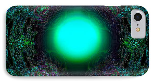 IPhone Case featuring the digital art Attraction Of The Light by Hanza Turgul