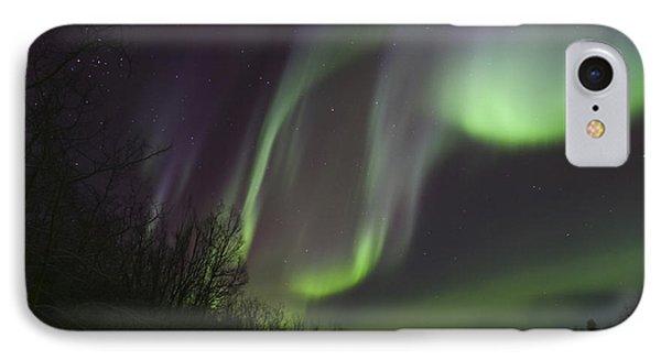 Aurora Borealis By Fish Lake Phone Case by Joseph Bradley