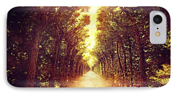 Avenue Trees IPhone Case