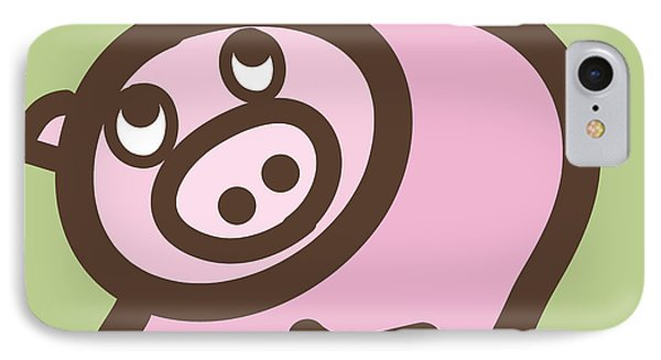 Baby Pig Art For The Nursery IPhone Case