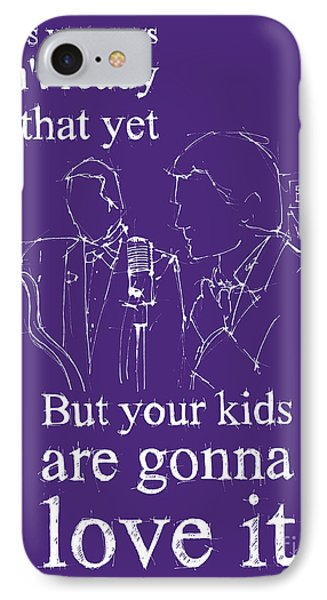 Back To The Future. But Your Kids Are Gonna Love It IPhone Case by Pablo Franchi