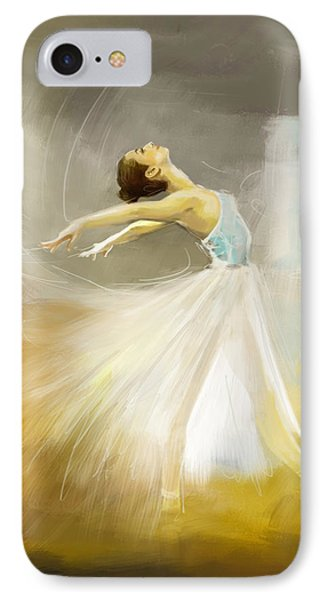 Ballerina  Phone Case by Corporate Art Task Force