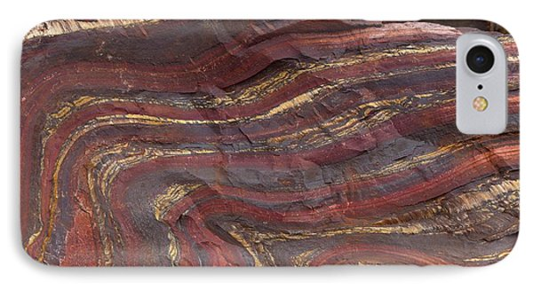 Banded Iron Formation IPhone Case by Dirk Wiersma