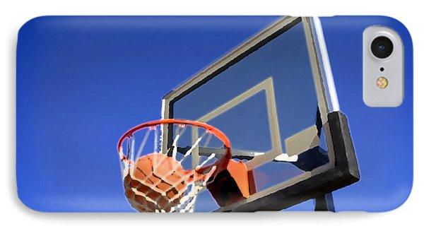 Basketball Shot IPhone Case by Lane Erickson
