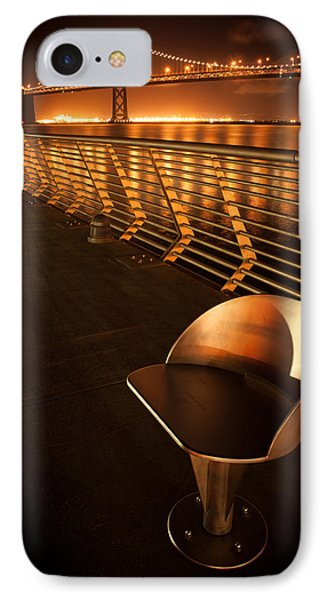 Bay Bridge At Night IPhone Case by Celso Diniz