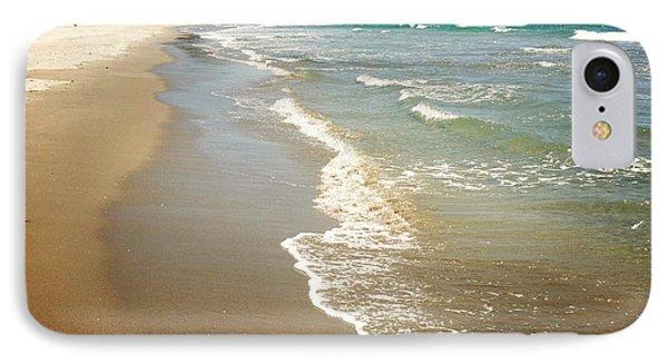 Beach Phone Case by Les Cunliffe