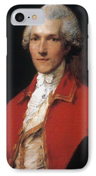 Benjamin Thompson (1753-1814) IPhone Case by Granger
