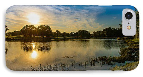 Berry Creek Pond IPhone Case