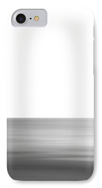 Black And White Abstract Seascape No. 02 IPhone Case