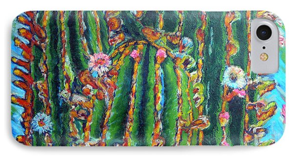 Blooming Cactus IPhone Case by Gerhardt Isringhaus