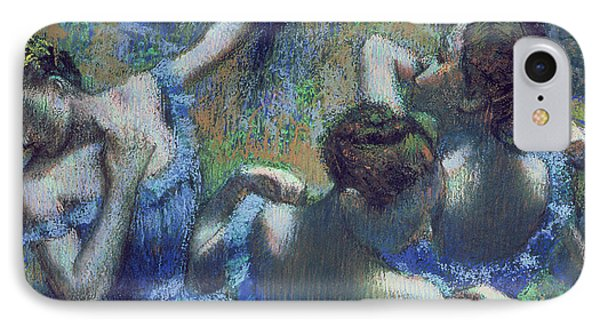 Blue Dancers IPhone Case