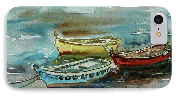 3 Boats II Phone Case by Xueling Zou