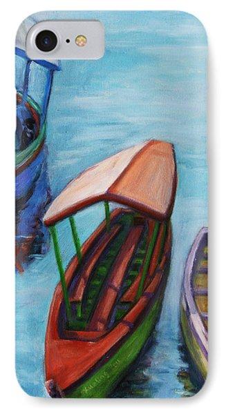 3 Boats IIi Phone Case by Xueling Zou