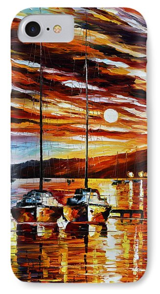 3 Borthers Phone Case by Leonid Afremov
