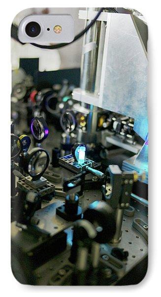 Bose-einstein Condensate IPhone Case by Ibm Research