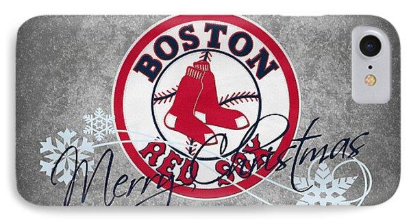 Boston Red Sox IPhone Case by Joe Hamilton