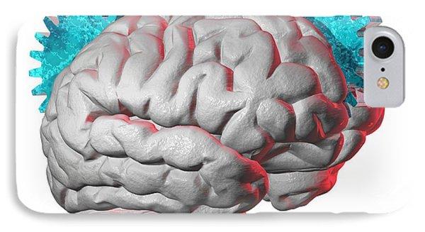 Brain Function, Conceptual Artwork IPhone Case by Laguna Design