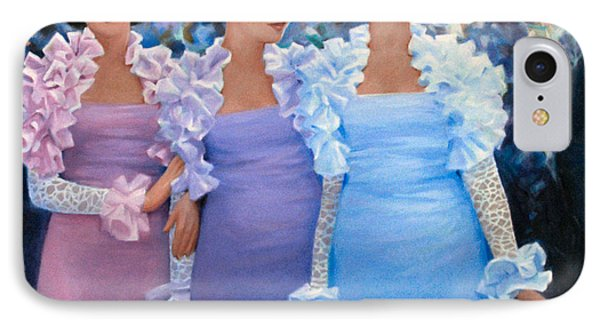 Brides Maids IPhone Case by Kevin Lawrence Leveque