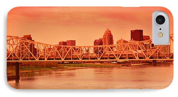 Bridge Across A River, John F. Kennedy IPhone Case