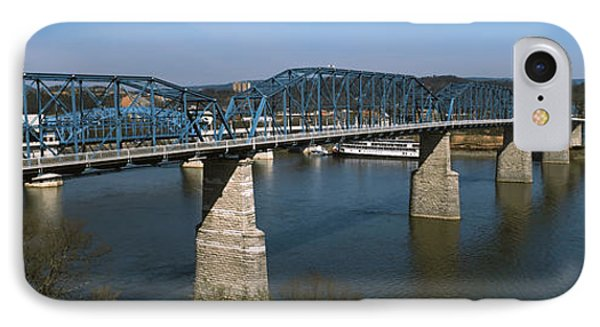 Bridge Across A River, Walnut Street IPhone Case