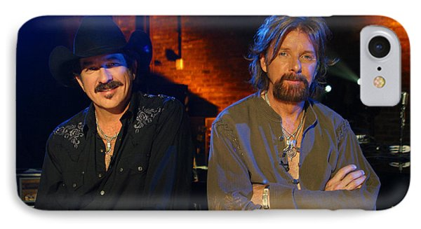 IPhone Case featuring the photograph Brooks And Dunn by Don Olea