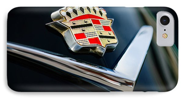 Cadillac Emblem Phone Case by Jill Reger