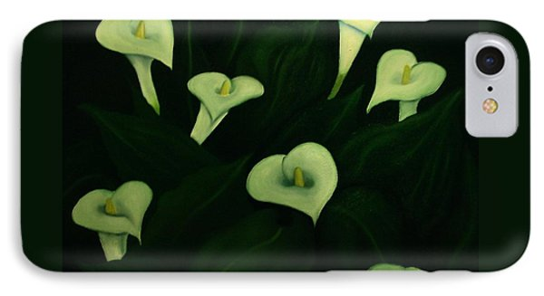 Calla Lilies IPhone Case by John Stuart Webbstock