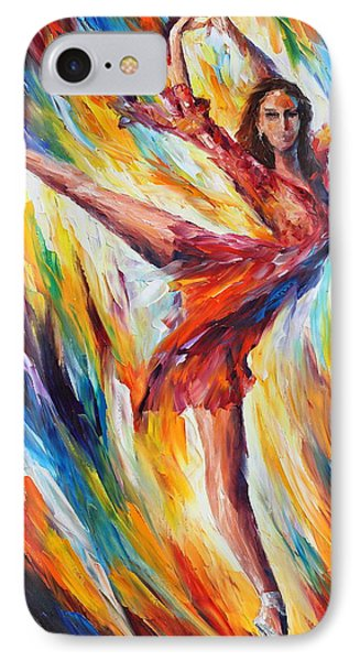 Candle Fire Phone Case by Leonid Afremov