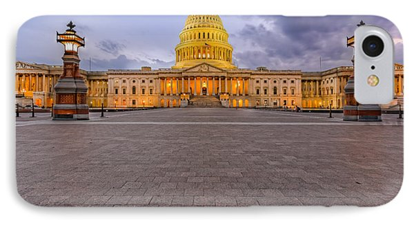 IPhone Case featuring the photograph Capitol Building by Peter Lakomy