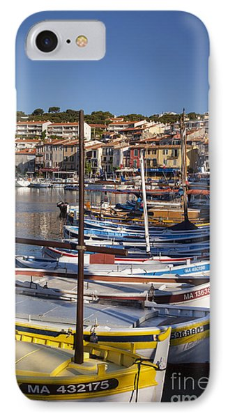 Cassis Boats Phone Case by Brian Jannsen