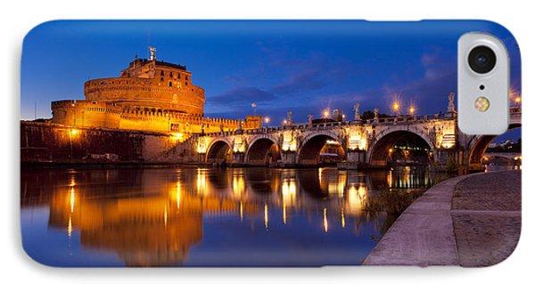 Castel Sant Angelo IPhone Case by Brian Jannsen