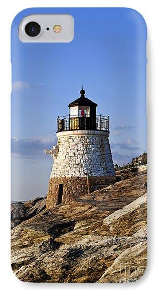 Castle Hill Lighthouse Phone Case by John Greim