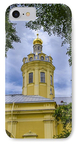 Cathedral Of Saints Peter And Paul - St Petersburg - Russia IPhone Case by Jon Berghoff