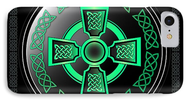 Celtic Cross IPhone Case by Ireland Calling