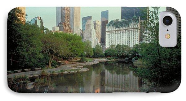 Central Park Phone Case by Rafael Macia