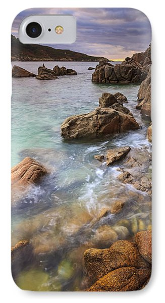 IPhone Case featuring the photograph Chanteiro Beach Galicia Spain by Pablo Avanzini