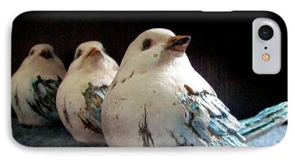 3 Cheeky Chicks 2 IPhone Case by Danielle  Parent