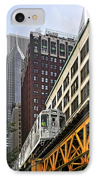 Chicago Loop 'l' Phone Case by Christine Till