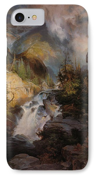 Children Of The Mountain Phone Case by Thomas Moran