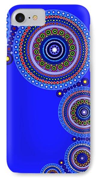 Circle Motif 123 IPhone Case
