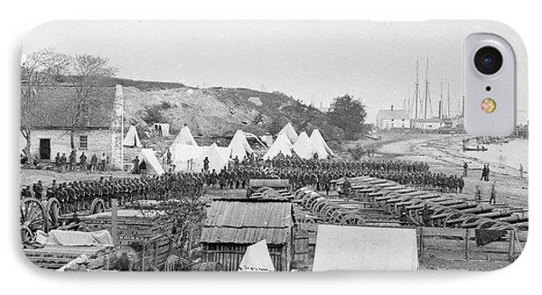 Civil War Union Artillery IPhone Case by Granger