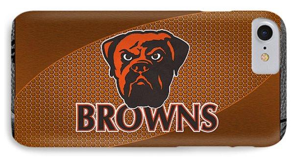 Cleveland Browns Phone Case by Joe Hamilton