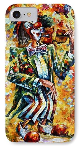 Clown Phone Case by Leonid Afremov