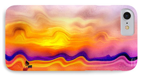 Colorful Sunset IPhone Case by Odon Czintos