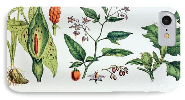 Common Poisonous Plants Phone Case by English School
