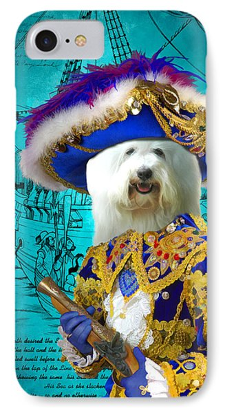 Coton De Tulear Art Canvas Print  IPhone Case by Sandra Sij